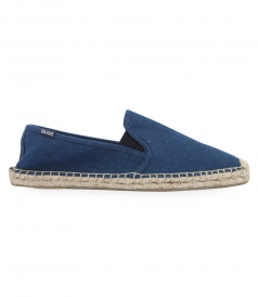 SHOES - SOLID NAVY ORIGINAL DALI SLIP ON ESPADRILLE