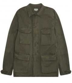 JORDON MILITARY JACKET FT FOUR POCKET & BUTTON UP FRONT CLOSURE