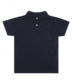 SHORT COTTON POLO WITH SHORT SLEEVES