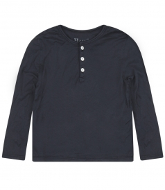 LIGHT WEIGHT COTTON HENLEY TOP