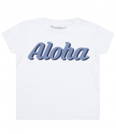 ALOHA PRINTED PURE COTTON TEE