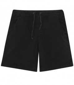 BILLY FADE OUT CABARDINE SHORTS WITH DRAWSTRING WAIST