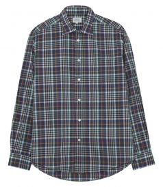 PAUL PAT MULTICOLOUR CHECKED SHIRT