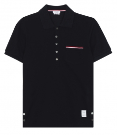 SHORT SLEEVE POLO FT CHEST POCKET WITH SIGNATURE COLOR PIPING