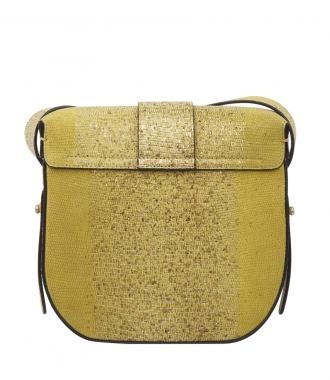 TEXTURED LEATHER SATCHED FT METAL DETAILING