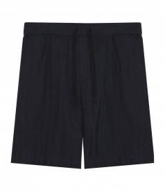 RYDER SHORT IN COTTON FT DRAWSTRING ELASTICATED WAIST