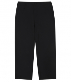 RAW CUT WIDE LEG PANT IN LIGHTWEIGHT WOOL