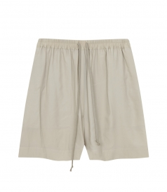 BOXER SHORTS WITH DRAWSTRING ELASTICATED WAIST