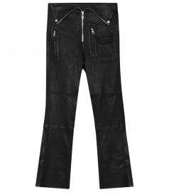 LOLITA BIKER LEATHER PANTS FT HARDWARE DETAILING