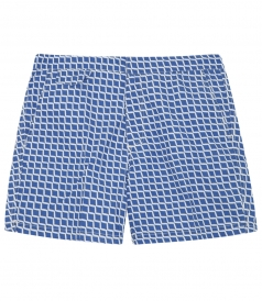 SOCOA PRINTED SWIM SHORTS WITH SIDE POCKETS