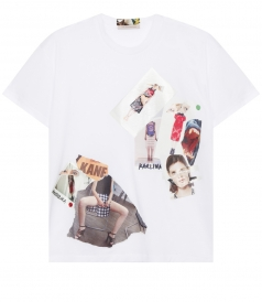 BOYFRIEND TRANSFER SHORT SLEEVE TEE FT COLLAGE EFFECT
