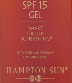 HYDRATING SPF 15 GEL