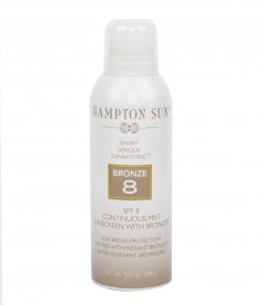 SPF 8 BRONZE MIST SUNSCREEN