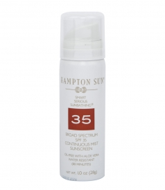 HAMPTON SUN - SPF 35 CONTINUOUS MIST IN TRAVEL SIZE