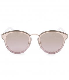 DIOR NIGHTFALL SQUARE SHAPED SUNGLASSES FT MIRRORED LENSES