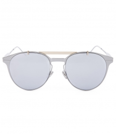 DIOR SUNGLASSES - DIOR MOTION ROUND METAL-FRAME SUNGLASSES