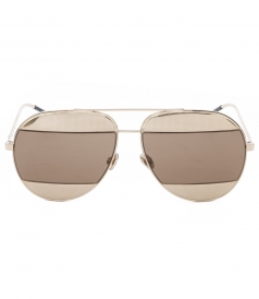 DIOR SUNGLASSES - SPLIT MIRRORED SUNGLASSES