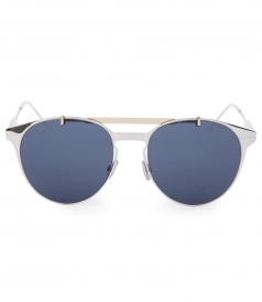 DIOR SUNGLASSES - DIOR MOTION ROUND METAL SUNGLASSES FT DOUBLE BRIDGE