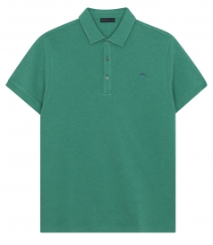 CLASSIC PIQUE SHORT SLEEVE POLO SHIRT IN COTTON