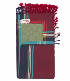 SOLID KIKOY MULTICOLORED BEACH TOWELS IN COTTON