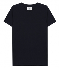 SALES - SOL ESSENTIAL V NECK TEE IN SOFT COTTON