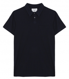 CLASSIC SHORT SLEEVE POLO IN COTTON FT CHEST POCKET
