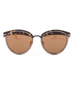 DIOR SUNGLASSES - DIOR OFFSET2 CAT EYE SHAPED SUNGLASSES FT MULTICOLOR TOPLINE
