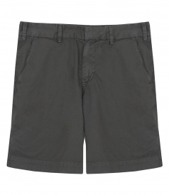 LIGHT TWILL MEDIUM RISE SLIM LEG BERMUDA SHORT