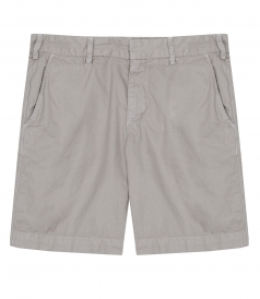 SALES - LIGHT TWILL MEDIUM RISE SLIM LEG BERMUDA SHORT