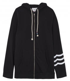 SOL ESSENTIAL ZIP THROUGH LONG SLEEVE HOODIE