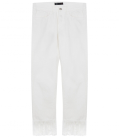 CLOTHES - BIANCA WM ANKLE FRINGED CROPPED JEANS