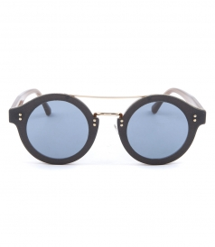 MONTIE ROUND FRAMED SUNGLASSES