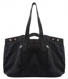 FIELD TOTE IN OVER-WASHED DENIM FT WORN-IN EFFECT