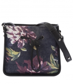 SHOULDER - FLORAL PRINTED SOLEIL MINI BUCKET SHOULDER BAG