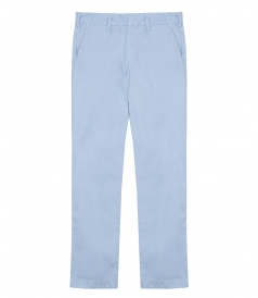 CLOTHES - LIGHT TWILL MEDIUM RISE TROUSERS FT TAPERED LEGS