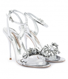 SALES - LILICO 3D FLOWER EMBELLISHED HIGH HEEL SANDALS