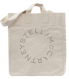 BEACH BAG FT CIRCLE LOGO PRINT