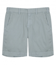 CLOTHES - LIGHT TWILL MEDIUM RISE SLIM LEG BERMUDA SHORT
