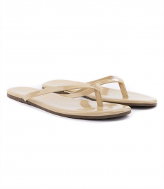 SHOES - CLASSIC GLOSSES FLIP FLOPS WITH LIGHTWEIGHT SOLE