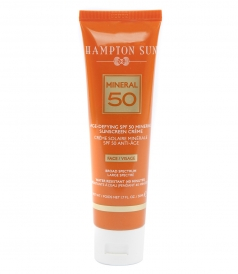 SPF 50 AGE-DEFYING MINERAL FACE CREME