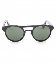 d7df0cece662 ROUND SHAPE SUNGLASSES FT EMBOSSED LOGO ON TEMPLE