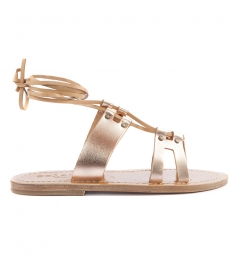 SHOES - SAVANNAH ANKLE WRAPPED STRAP SANDALS