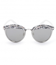 ACCESSORIES - DIOR OFFSET1 ROUND SHAPE SUNGLASSES FT MULTICOLORED TOPLINE