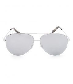 ACCESSORIES - CLASSIC VICTORIA LARGE AVIATOR SUNGLASSES IN PLATINUM