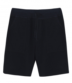 SUPIMA FLEECE SWEATSHORT FT ELASTICATED DRAWSTRING WAIST