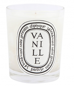 CANDLES - VANILLE SCENTED 190gr CANDLE