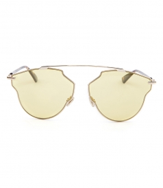 DIOR SO REAL MIRRORED SUNGLASSES FT CONTRASTING TEMPLES