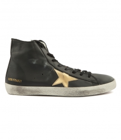 SHOES - FRANCY HIGH TOP SNEAKERS FT LAMINATED STAR