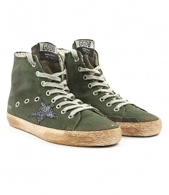 SHOES - FRANCY SNEAKERS FT GLITTER COATED STAR