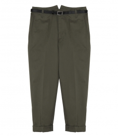 CHINO GOLDEN TROUSERS
